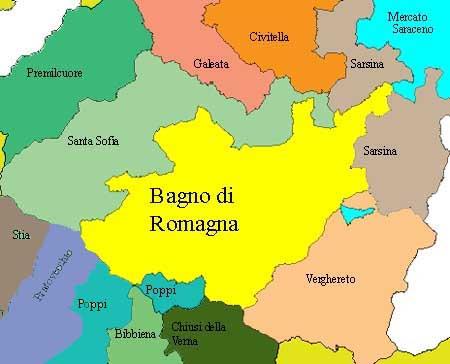 Bagno di romagna viabilit appennino romagnolo - Incisa bagno di romagna ...
