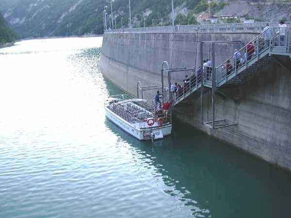 Diga di ridracoli appennino romagnolo - Lago lungo bagno di romagna ...